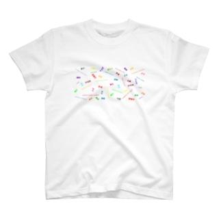 Sherryの医療従事者 略語 colorful T-shirts