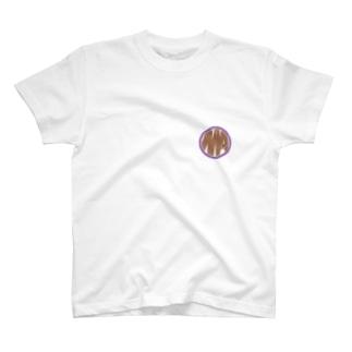 Ms Amaryllis vintage circle logo T-shirts