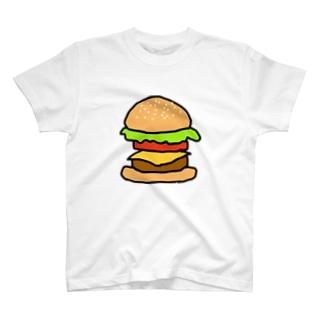 デカすぎバーガー T-shirts