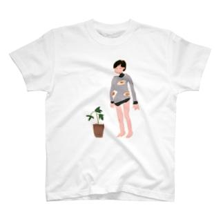 ひとのさみしさをわらうな T-shirts