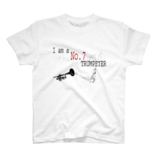No.7 トランペッター T-shirts