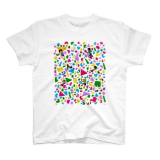 ポップなボルダリング T-shirts