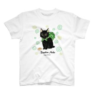 どろぼうねこ(両面イラスト) T-shirts