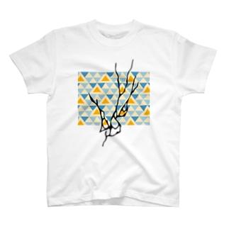 キャンプT_山_川 T-shirts