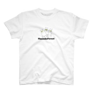 ぐるぐるフクロウ T-shirts