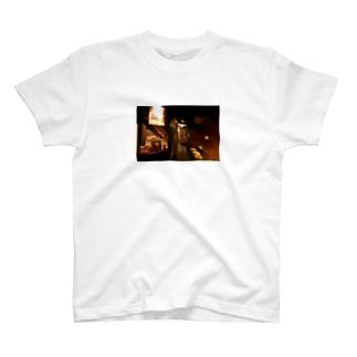 カラーver.炭やき 銀の蔵店内 T-shirts