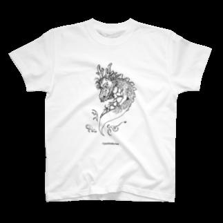 yoshitaka kaiのTシャツ屋の呼ばれて飛び出てジャジャジャジャーン。 Tシャツ