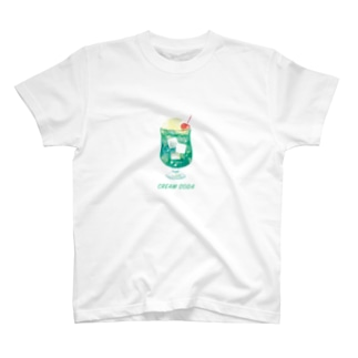 クリームソーダT(グリーン) T-shirts
