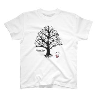 パンダ・ツリー  T-shirts