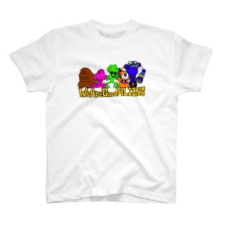 WeAreGoodELIENS T-shirts