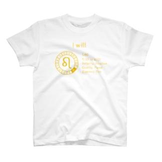 12星座【獅子座】 T-shirts