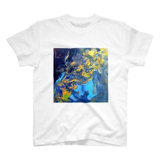 【天の川】彩度100ver. T-shirts