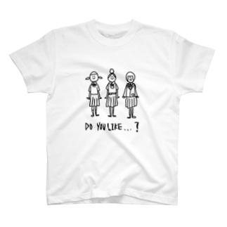 制服の3人組 T-shirts