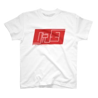 脱臼ロゴ T-shirts