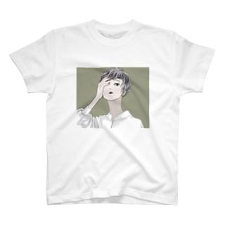 ショートパーマ。 T-shirts