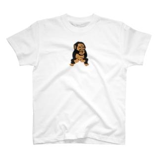 ハコベラ ごりら Tシャツ T-shirts