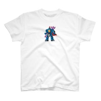 ハコベラ ろぼ Tシャツ T-shirts