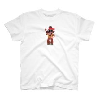 ハコベラ おじさん Tシャツ T-shirts