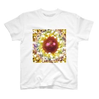 キラキラ黒糖パン T-shirts