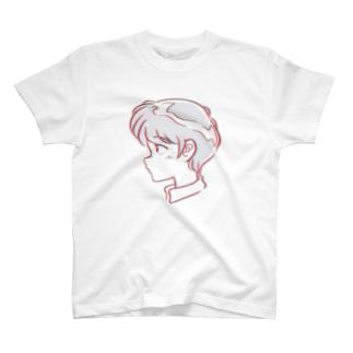 横顔 T-shirts