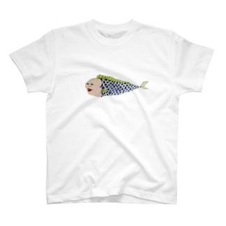 人面魚さん T-shirts