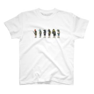 夏の方々 T-shirts