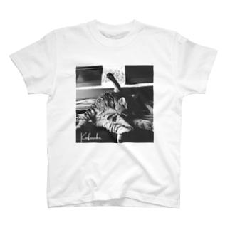 KAFURAKU 公式アイテム(ぬこ) T-shirts
