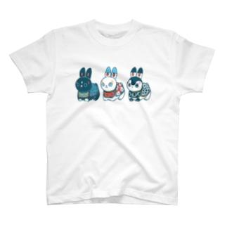 HARIKO兎  T-shirts