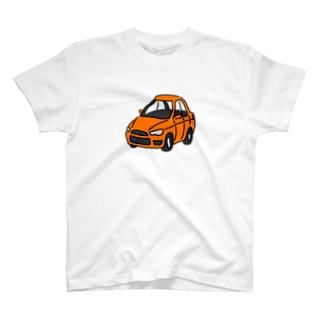 オレンジのセダン T-shirts