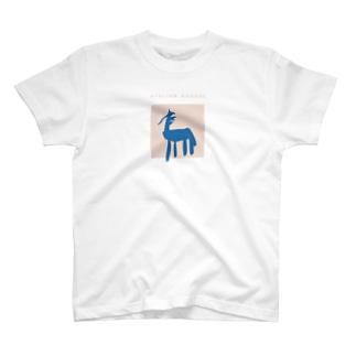馬 uma-coralback design T-shirts