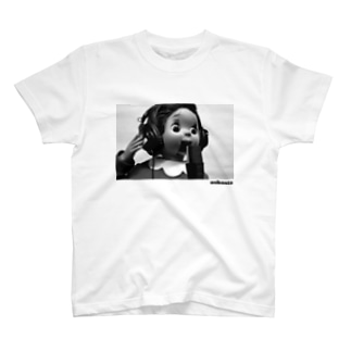 おしゃスタふくちゃんTシャツ ロゴ黒色ver. T-shirts