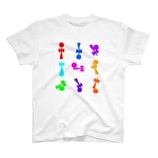 静止系女子会 T-shirts