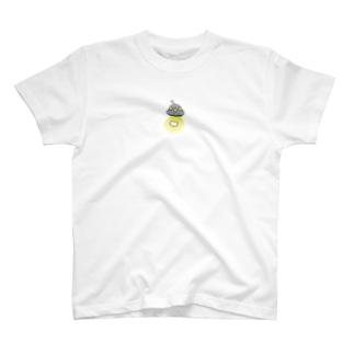 ゆーふぉー目撃現場 T-shirts
