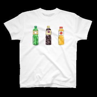 3chikoの酒としょうゆとみりん T-shirts