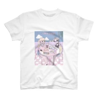 ♡ cafe ♡ T-shirts