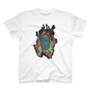 能面5 T-shirts