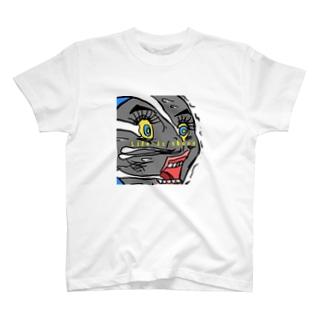 リアル物の気持ちシリーズNo.2「機関車の気持ち」 T-shirts