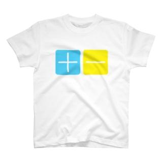 プラスマイナス T-shirts