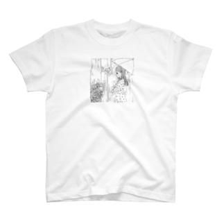 6月生まれの女の子(マンガ) T-shirts