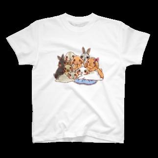アトリエねぎやまのネロちゃんと仲間たち T-shirts