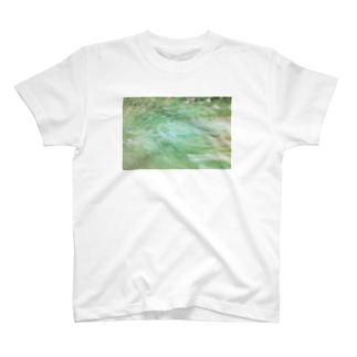 Flower Flow(前面) T-shirts