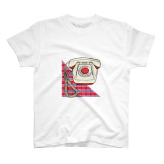 電話 T-shirts
