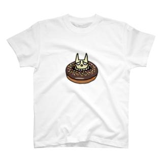 キヨのモノのネコサンドーナッてるの!? T-shirts