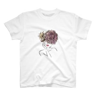 【 Dahlia Head 】part.1 T-shirts