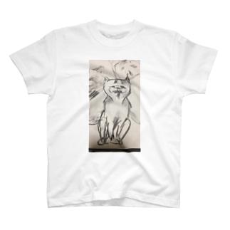 邪悪な猫くん T-shirts