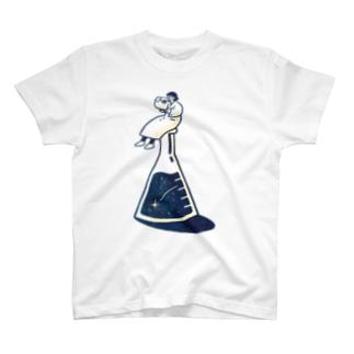 三角フラスコapparel T-shirts