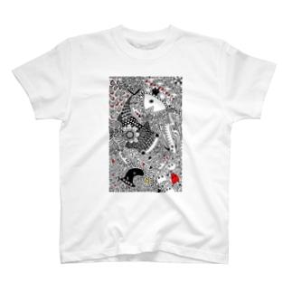 ジンベエザメと愉快な仲間たち T-shirts