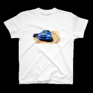 marsの1998年スバルインプレッサ555WRC  T-shirts