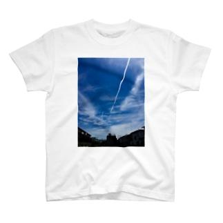 ひこうき雲 T-shirts