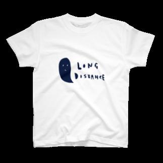 elegirlのlong distance (ghost) Tシャツ